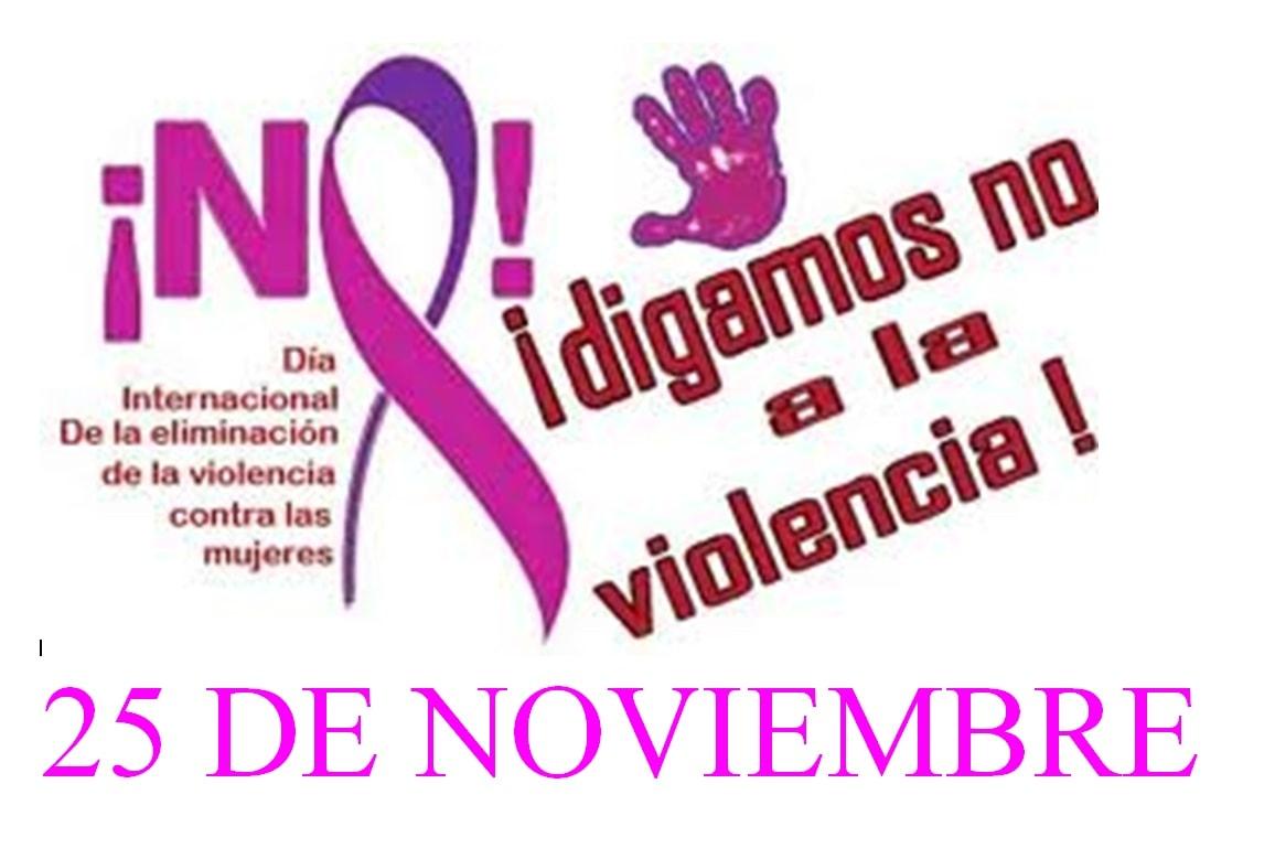 Actividades a lo largo de esta semana con motivo del 'Día Internacional contra la Violencia hacia las Mujeres'