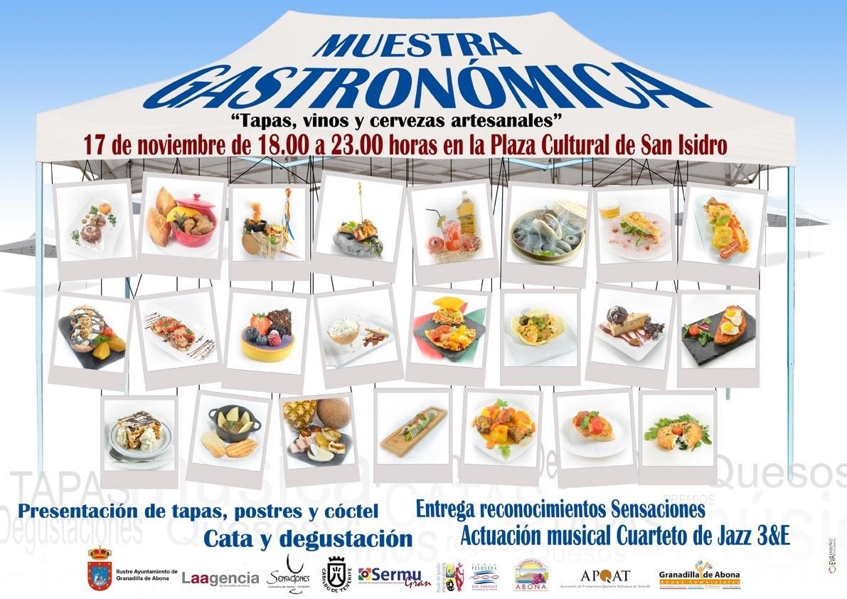 La Muestra Gastronómica 'Mándate una Tapa' en Granadilla de Abona, este viernes en San Isidro