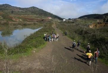 La inscripción a la 'Ruta Charcas de Erjos – Los Silos' (Programa 'Senderíza-t' 2017) del próximo domingo finaliza  este jueves día 9