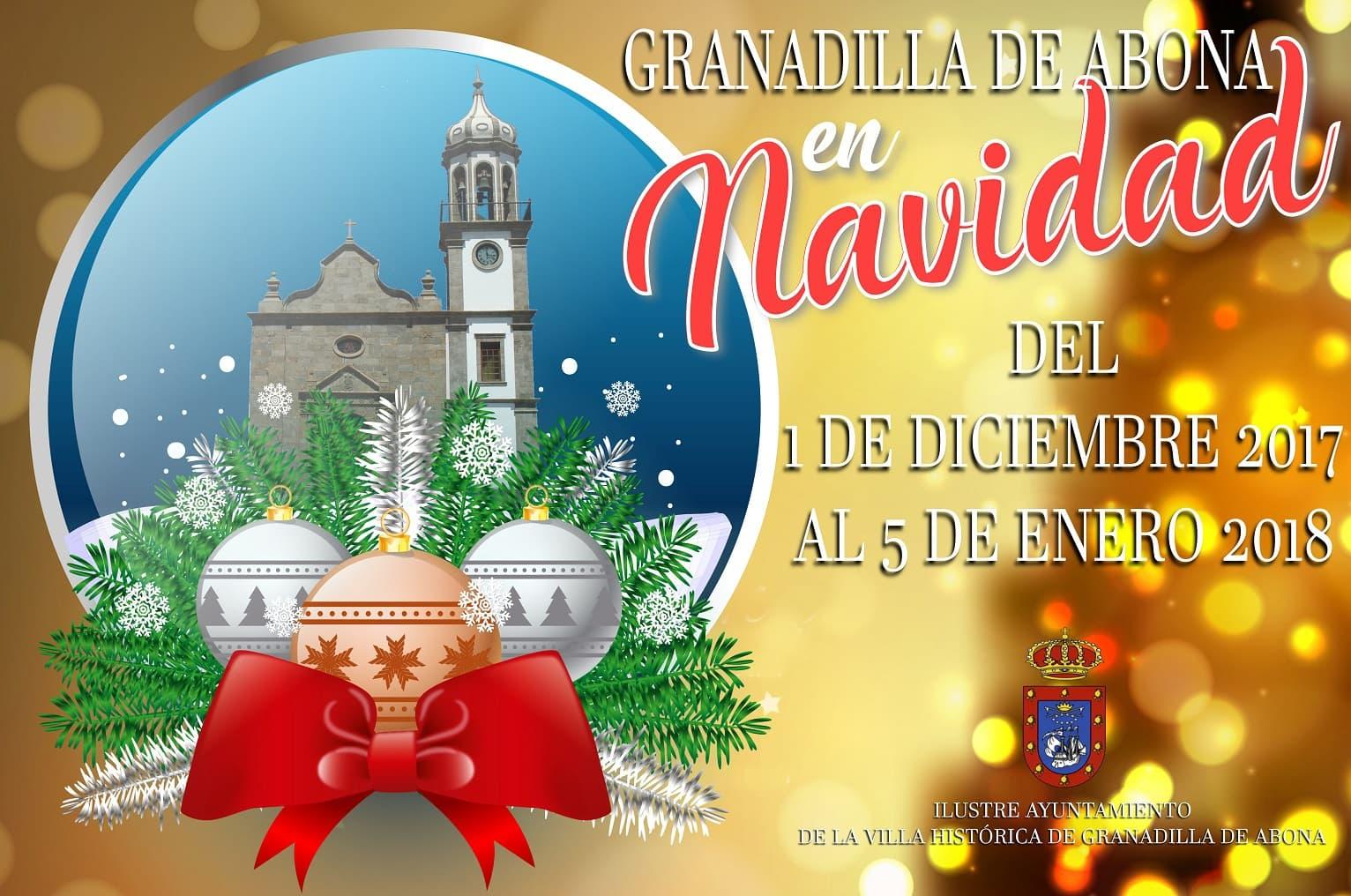 Estas tradicionales Fiestas (Navidad, Fin de Año y Reyes) en Granadilla de Abona
