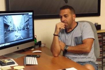 Granadilla de Abona en FITUR con el robot Dumy y las imágenes de Juanmi Alemany (y III): Juanmi Alemany, el arte hecho fotografía