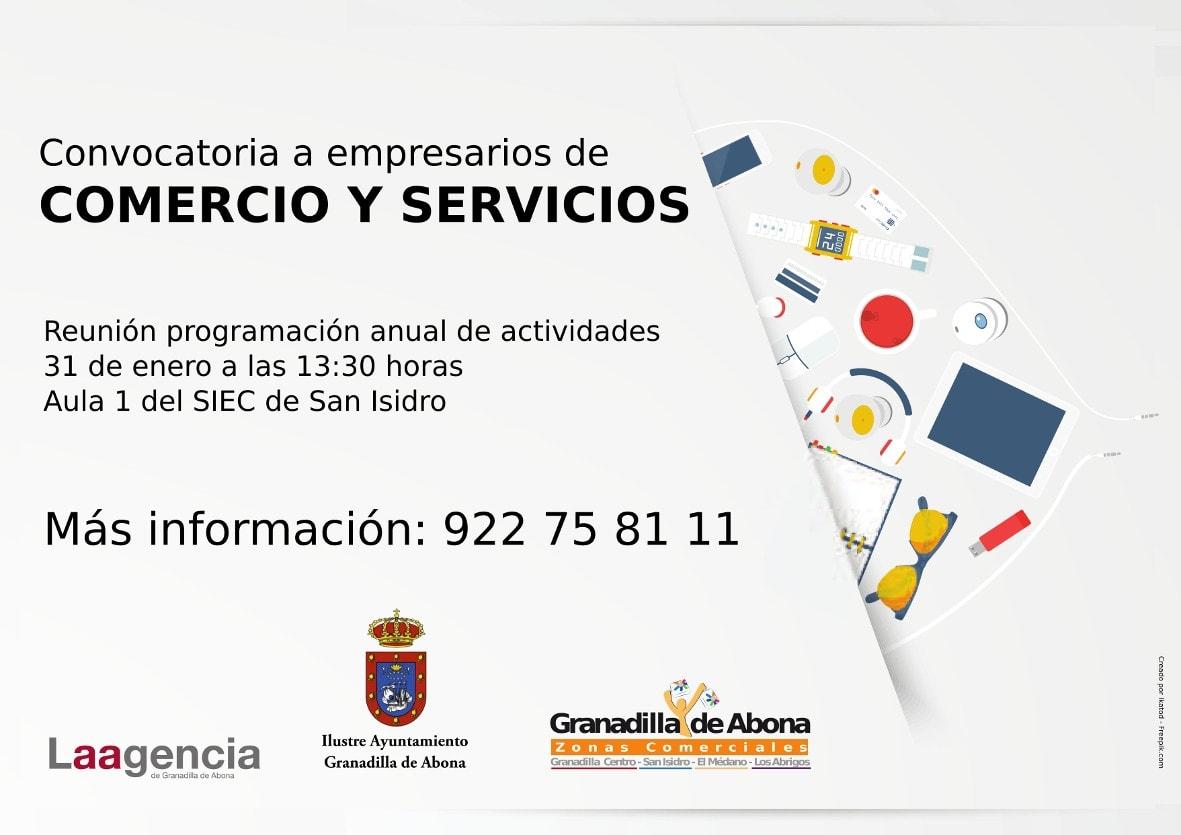 Reunión de la AEDL con el sector empresarial 'Comercio y Servicios', este miércoles en el SIEC