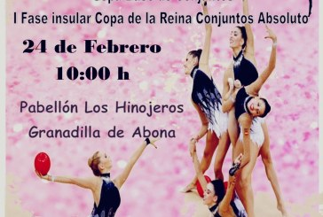 Campeonato de Tenerife de Gimnasia Rítmica, este sábado en el Pabellón Municipal