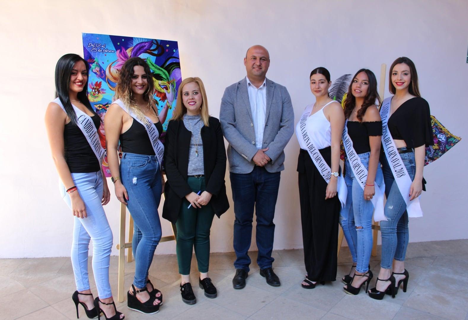 Carnaval 2018: Presentación del Programa, candidatas a Reina y estreno de nueva carpa