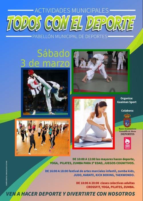 La Jornada 'Todos con el Deporte', este sábado en el Pabellón Municipal de Los Hinojeros