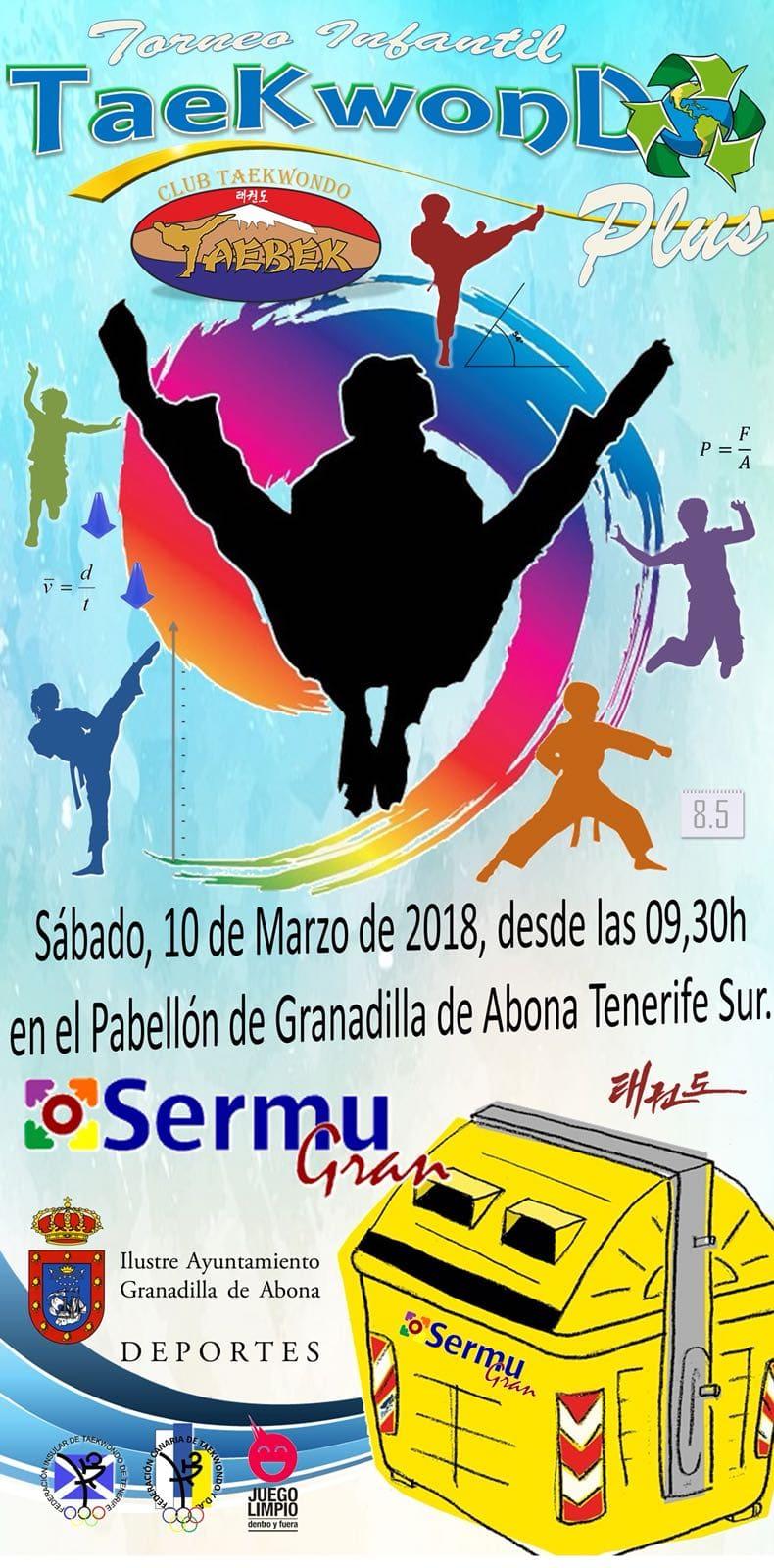 El Torneo Infantil 'Taekwondo Plus Sermugran', este sábado en el Pabellón Municipal de Deportes