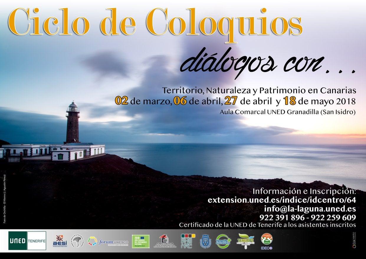 La charla-coloquio 'Gestión y Conservación del Patrimonio en Canarias', este viernes en el Aula de la UNED de San Isidro