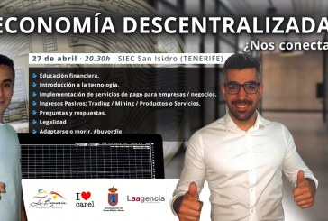 La Conferencia 'Economía Descentralizada ¿Nos Conectamos?', este viernes en el SIEC