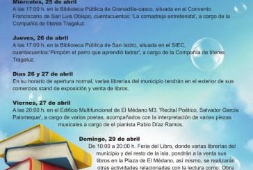 Programa de actividades con motivo de la conmemoración del 'Día del Libro' 2018