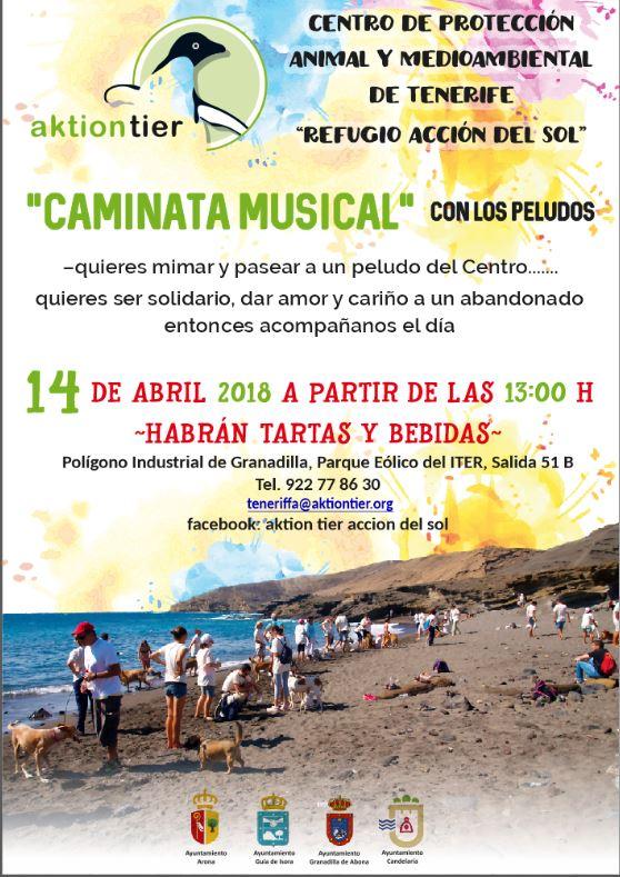 La Fiesta de Primavera 2018 'Caminata Musical con los Peludos', este sábado junto al Parque Eólico del ITER