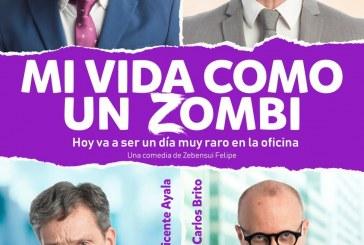 La obra de teatro 'Mi vida como un zombi: hoy va a ser un día muy raro en la oficina', este viernes en el SIEC