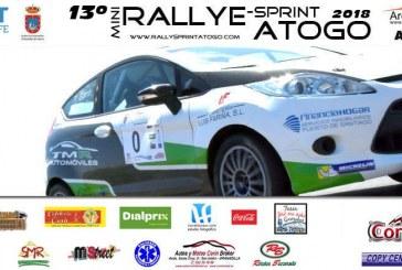 La XIII edición del 'Rally-Sprint Atogo', este viernes y sábado