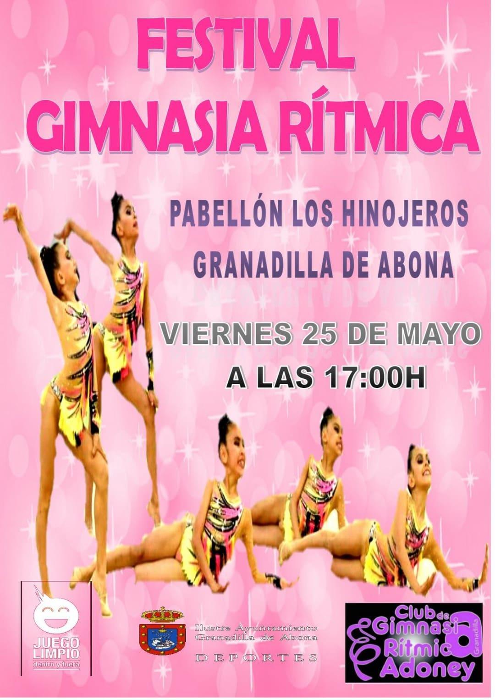 'Festival de Gimnasia Rítmica' este viernes en el Pabellón Municipal de Deportes