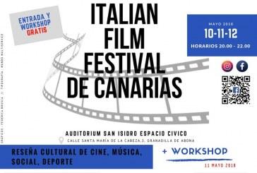 El 'I Festival de Cine Italiano de Canarias', este jueves, viernes y sábado en el Auditorio del SIEC