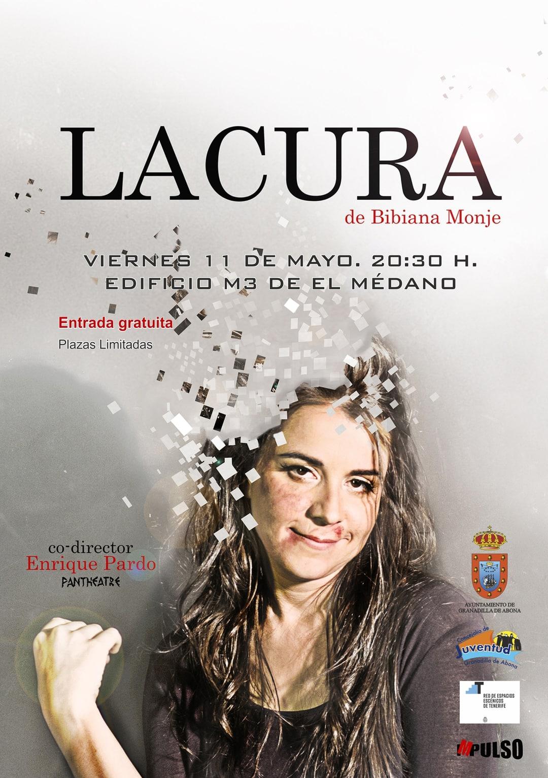 La obra de teatro 'LACURA' de Bibiana Monje, este viernes en El Médano