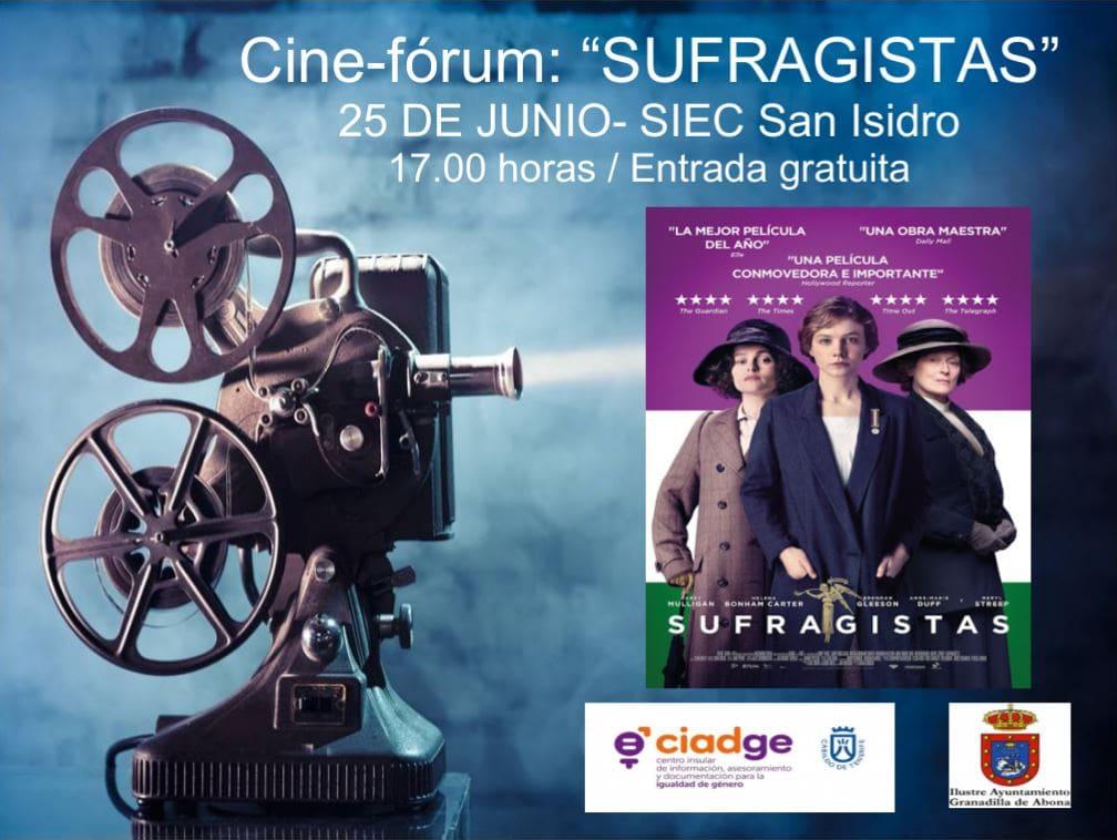 Cine-fórum: 'Sufragistas', este lunes en San Isidro