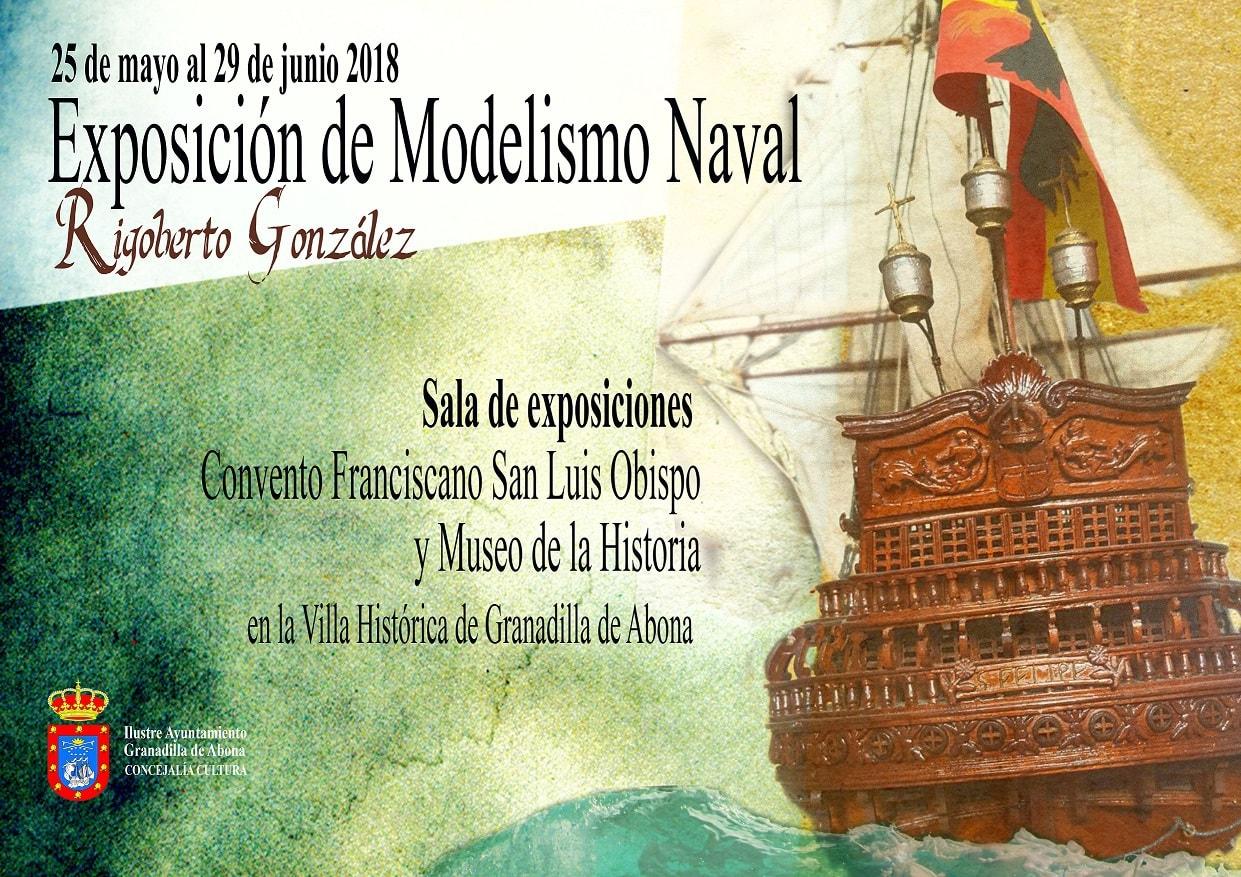 Exposición de obras de 'modelismo naval', de Rigoberto González, en el Convento Franciscano y el Museo Etnográfico  hasta el 29 de junio