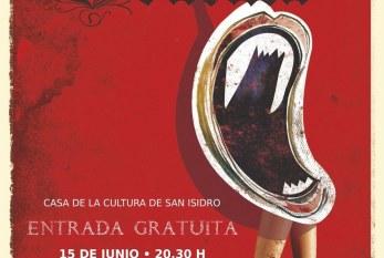 La obra de teatro 'Drácula', de Abubukaka, este viernes en la Casa de la Cultura de San Isidro