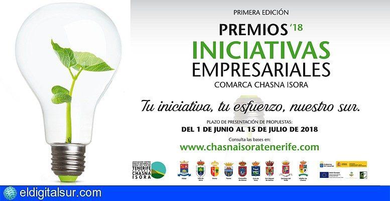 Los 'Premios Iniciativas Empresariales 2018' de la Comarca Chasna-Isora