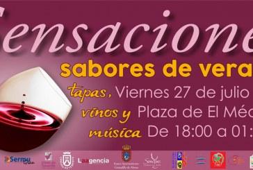 Tapas, vinos y música en 'Sensaciones sabores de verano', este viernes en horario de tarde y noche en El Médano