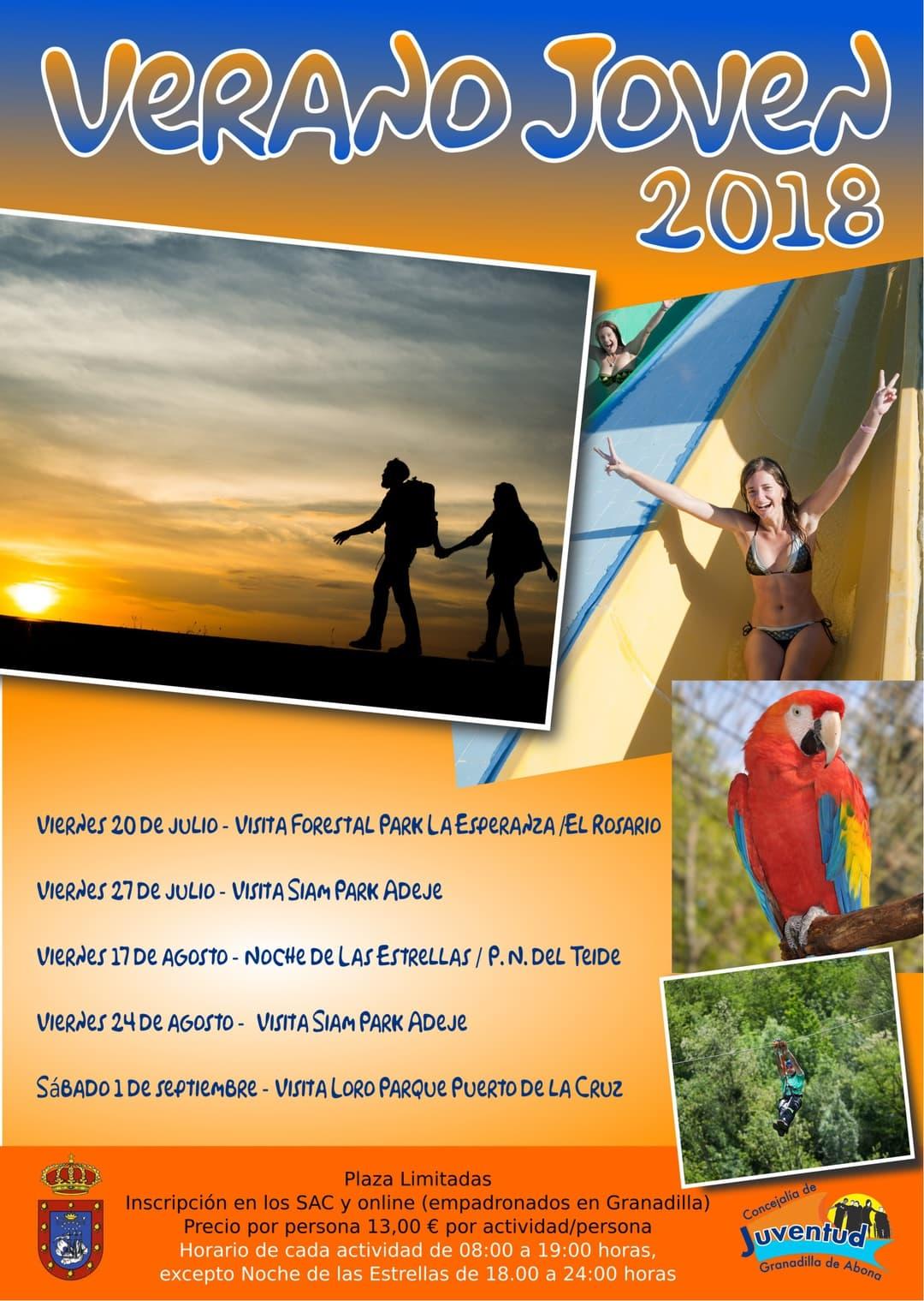 Últimas plazas para participar en la actividad 'Visita al Siam Park' del 27 de julio
