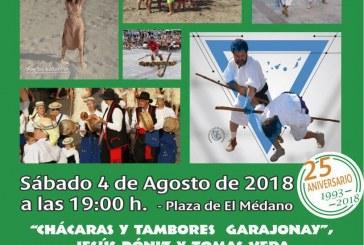 Curso, exámenes y taller de 'garrote canario' este viernes y sábado, y 'Festival Ichasagua 2018' este sábado en El Médano