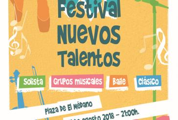 El plazo para inscribirse en el 'XI Festival de Nuevos Talentos Villa de Granadilla de Abona' finaliza este miércoles