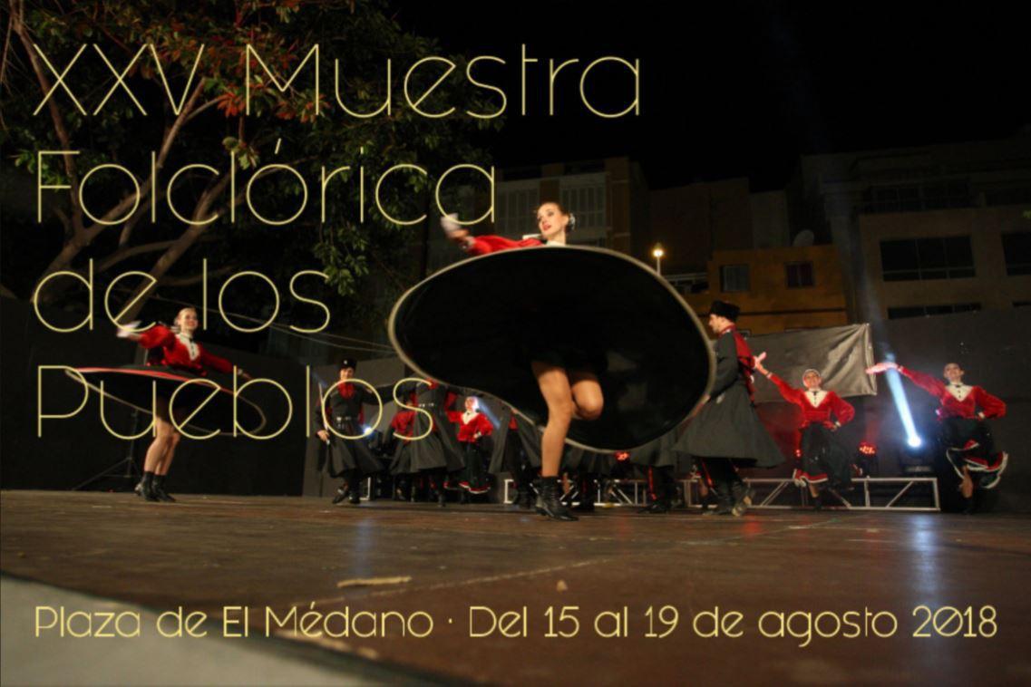 La XXV edición de la 'Muestra Folclórica de los Pueblos', del 15 al 19 de agosto en El Médano