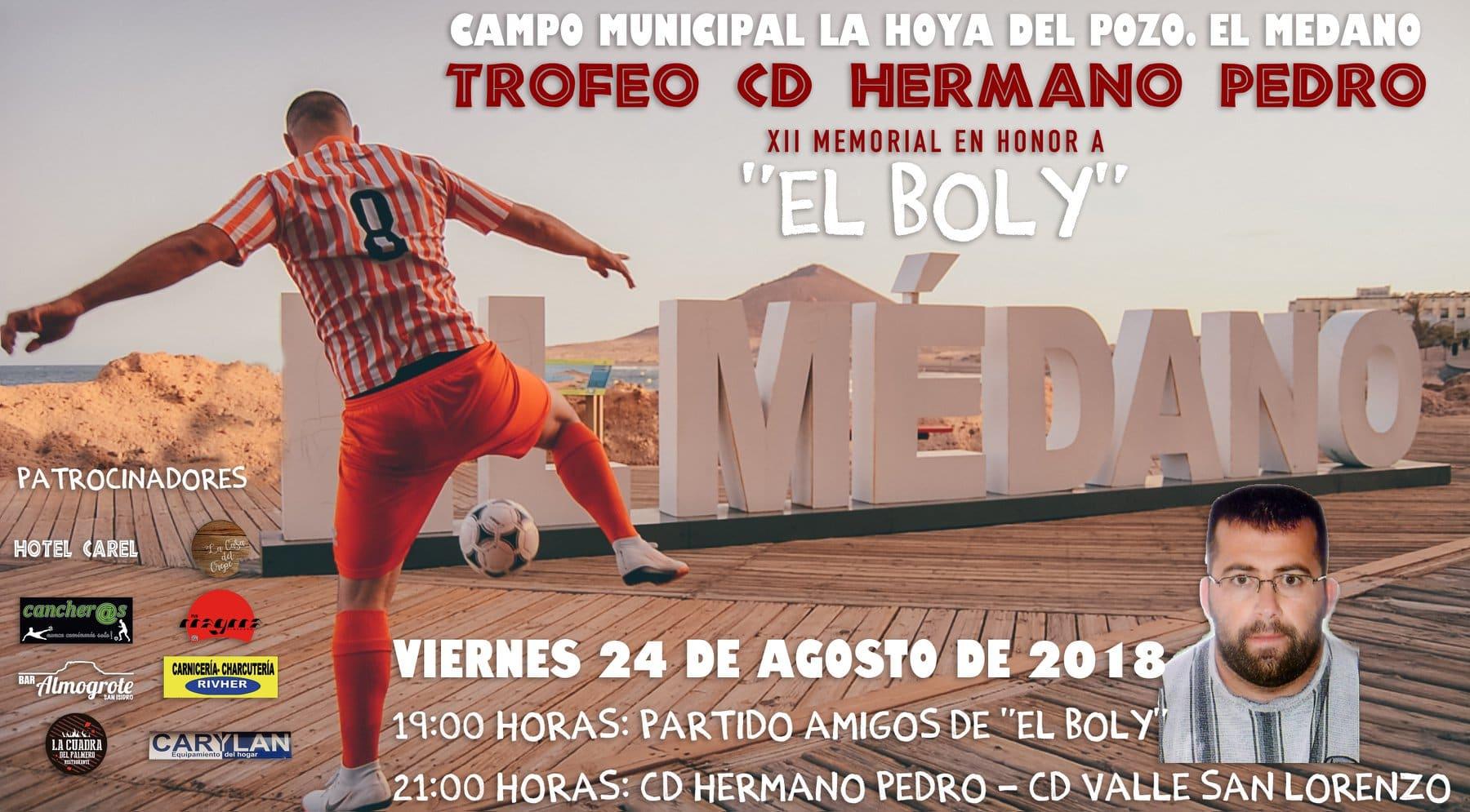 """El 'XII Memorial en honor a 'El Boly"""", este viernes  en el campo municipal La Hoya del Pozo de El Médano"""