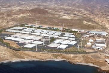 Colocación de la primera piedra de dos nuevos parques eólicos en Granadilla de Abona