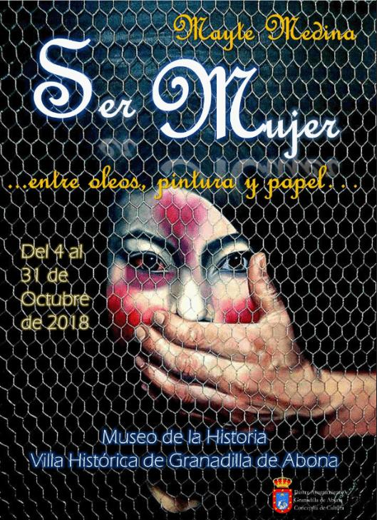 La exposición 'Ser Mujer…entre óleos, pintura y papel…' de Mayte Medina, hasta el 31 de octubre en el Museo de la Historia