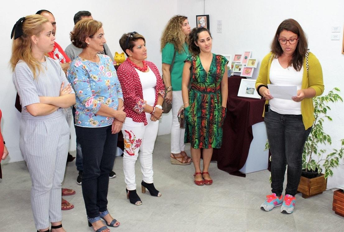 Exposición de ATELSAM de Granadilla de Abona en el Convento Franciscano con motivo del 'Día Mundial de la Salud Mental', hasta el 22 de octubre