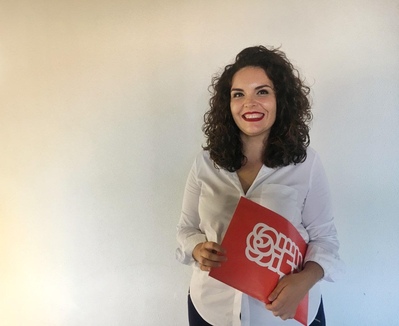 Jennifer Miranda Barrera, candidata a la Alcaldía de Granadilla de Abona por el PSOE