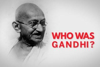 Una enseñanza de Gandhi: 'Sólo nos daña lo que permitimos'