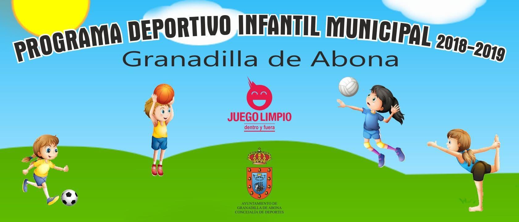 La inscripción a las actividades del 'Programa Deportivo Infantil Municipal 2018-19' sigue abierta