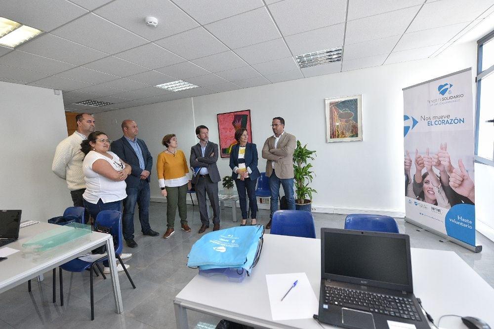 San Isidro dispone  de la primera sede de descentralización del voluntariado de Tenerife