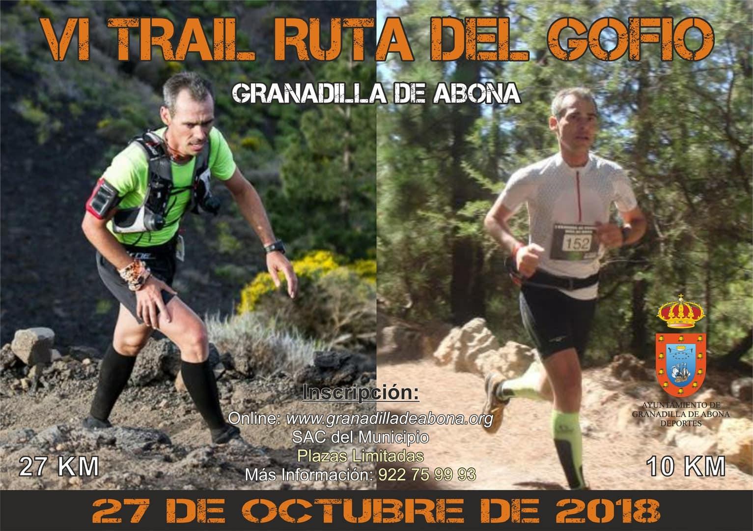 Inscripciones abiertas para participar en el 'VI Trail Ruta del Gofio de Granadilla de Abona' a celebrar el próximo 27 de octubre