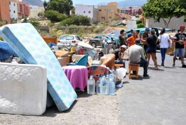 El grupo Podemos del Cabildo denuncia que se 'blanquean' los desahucios ocurridos en San Isidro para facilitar a las entidades financieras el desalojo de las viviendas