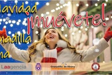 La campaña 'Esta Navidad, ¡muévete! en Granadilla de Abona'