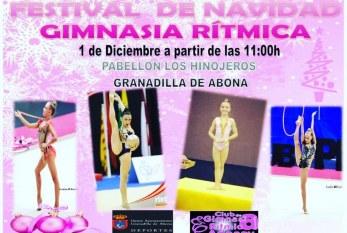 El 'Festival de Navidad de Gimnasia Rítmica', este sábado en el Pabellón Municipal de Deportes