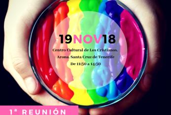 Invitación al 'I Encuentro de la Red Prisma con entidades LGTBIQ de Canarias' de este lunes día 19 en Los Cristianos