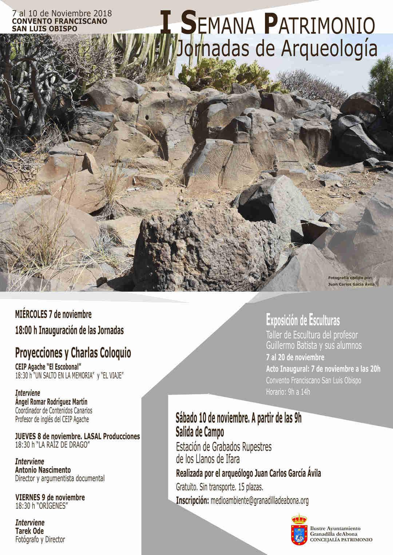 La 'I Semana de Patrimonio y Jornadas de Arqueología', del 7 al 10 de noviembre en el Convento Franciscano