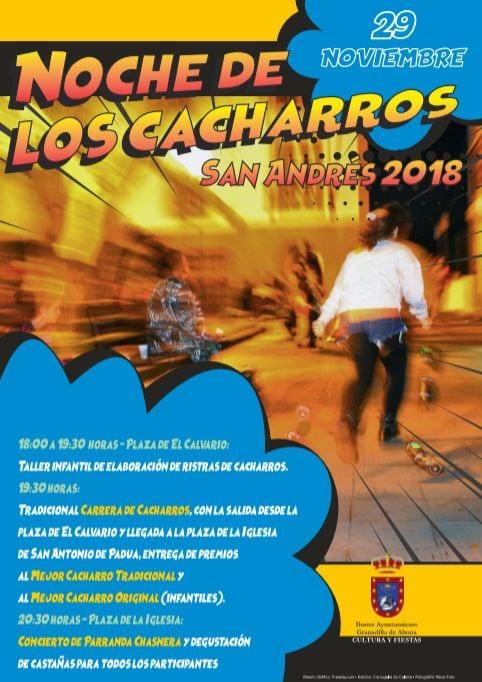 La tradicional 'Noche de los Cacharros – San Andrés 2018', este jueves desde las 18:00 horas