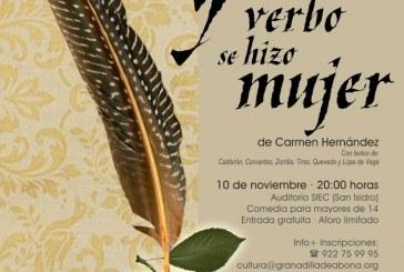 La obra de teatro 'Y el verbo se hizo mujer', este sábado en San Isidro