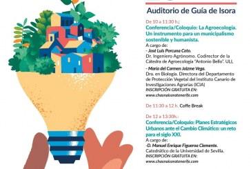 El acto de entrega de los 'Premios Chasna Isora 2018', este viernes en el Auditorio de Guía de Isora