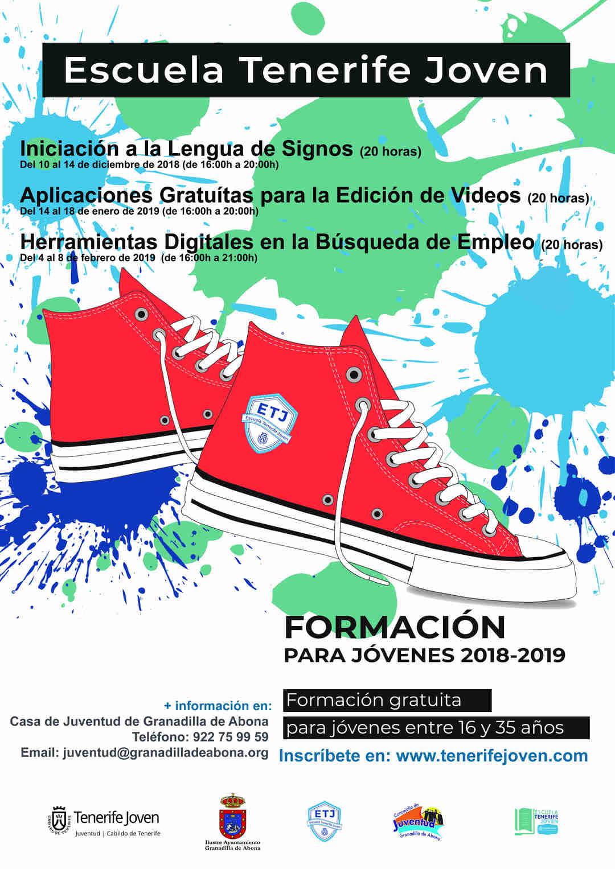 El curso gratuito 'Aplicaciones Gratuitas para la Edición de Vídeos' de la 'Escuela Tenerife Joven', del 14 al 18 de enero