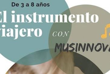 'El Instrumento Viajero' con Musinnova y 'Música en vivo', este martes y miércoles en San Isidro y el Casco dentro de la programación de Navidad