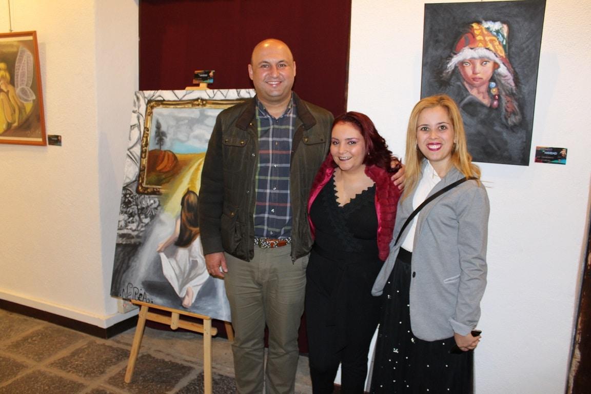La exposición de Nerea Morales 'Coloreando mi Navidad', hasta el 8 de enero en el Museo de la Historia del Casco