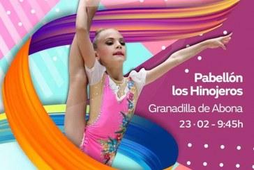 El 'Campeonato de Canarias de Gimnasia Rítmica' en Base Individual y Copa Masculino GR, este sábado en el Pabellón Municipal de Deportes