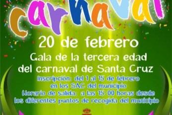 La inscripción a la actividad 'Nos vamos de Carnaval' del 20 de febrero finaliza este viernes